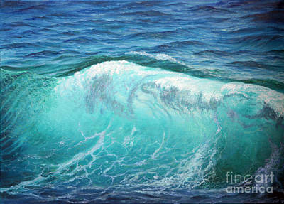 Painting - The Wave by Miki Karni