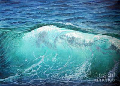 The Wave Art Print by Miki Karni