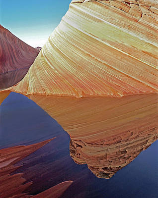 Photograph - The Wave Reflected by Jeff Brunton