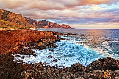 Oahu Photograph - The Waves Come Crashing In by Marcia Colelli