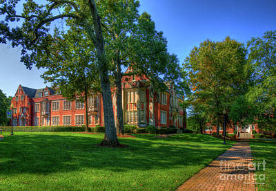 Photograph - The Way Campbell Hall Columbia Theological Seminary Art by Reid Callaway