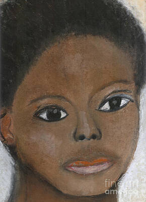 Pastel - The Way He Saw Himself by Angela L Walker