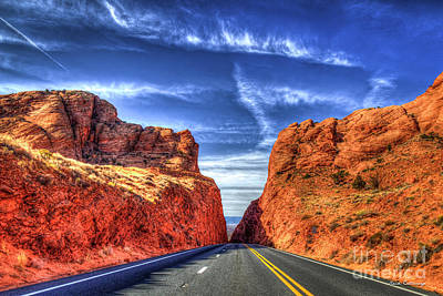 Photograph - The Way Home Arizona Red Rocks The Grand Canyon Collection Arizona Art by Reid Callaway