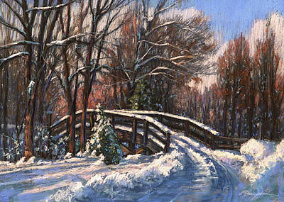 Painting - The Way Home by L Diane Johnson