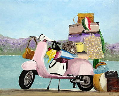 The Way I Travel Original by Daniela Pasqualini