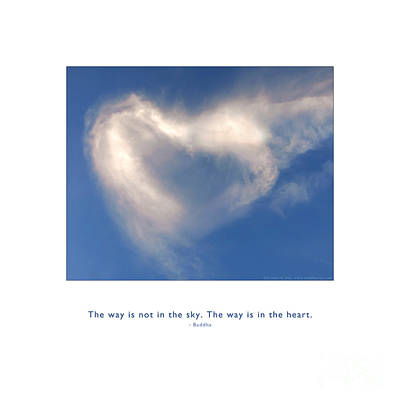 Photograph - The Way Is In The Heart by Kristen Fox