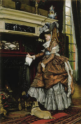 House Pet Painting - The Way by James Tissot