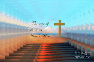 Photograph - The Way Of The Cross by Geraldine DeBoer