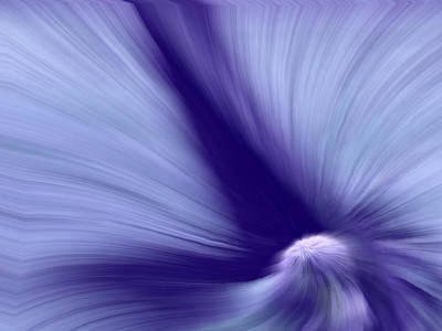 Impressionism Digital Art - The Way Of The Furry Wave. by Gina Callaghan