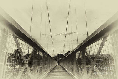 Photograph - The Way Over The Bridge by Eva-Maria Di Bella