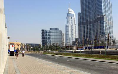 Photograph - The Way To Dubai by Munir Alawi