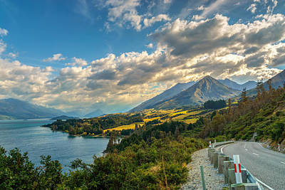 New Zealand Photograph - The Way To Glenorchy by James Udall