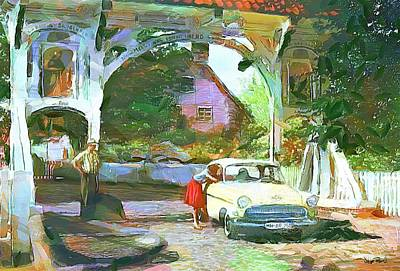 Painting - The Way We Were - Lifestyle by Wayne Pascall