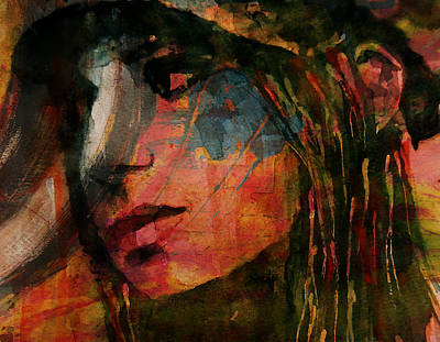 Streisand Painting - The Way We Were  by Paul Lovering