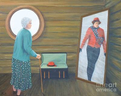 Painting - The Way We Were by Phyllis Andrews