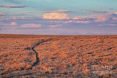 Photograph - The Way West by Jim Garrison