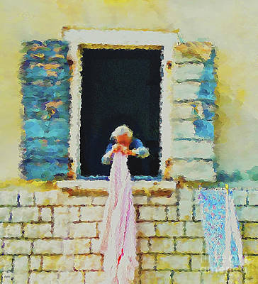 The Houses Mixed Media - The Ways Of Our Grandmothers by KaFra Art
