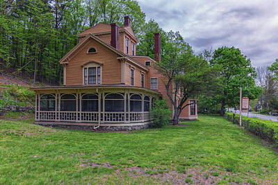 Louisa May Alcott Photograph - The Wayside Home Of Nathaniel Hawthorne by Brian MacLean