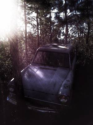 Harry Potter Photograph - The Weasley's Fly Car  by Luis Rosario
