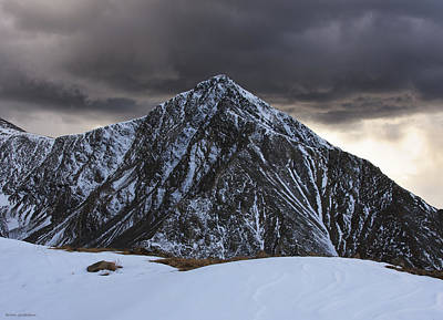 Torreys Peak Photograph - The Looming Storm by Brian Gustafson