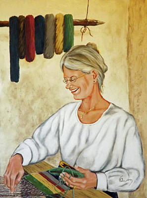 Painting - The Weaver by Carl Owen