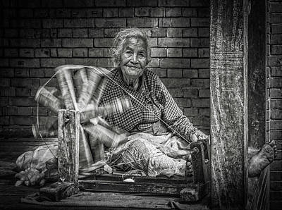 Photograph - The Weaver by Marty Garland