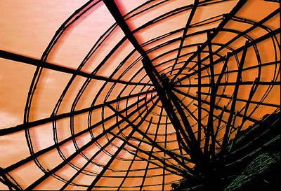 The Umbrellas Digital Art - The Web by Paul Wear