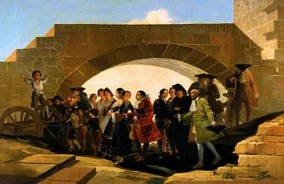 Painting - The Wedding 1792 by Goya Francisco
