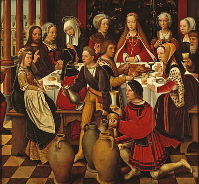 Cana Painting - The Wedding In Cana by Ambrosius Benson
