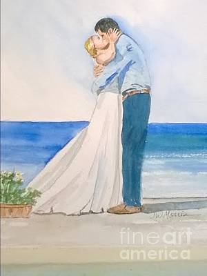 Painting - The Wedding by Jill Morris