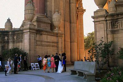 Photograph - The Wedding Party by Bonnie Follett
