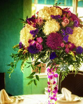 Digital Art - The Wedding Rehearsal by Sandra Selle Rodriguez