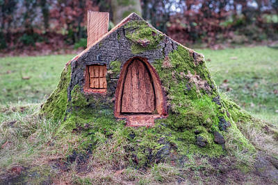 Photograph - The Wee Scottish House by Jeremy Lavender Photography