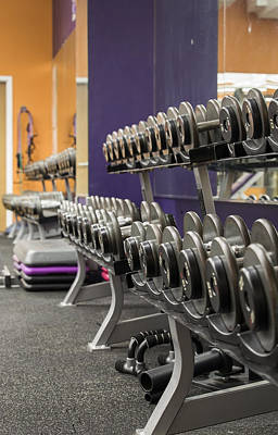 Photograph - The Weight Rack by Amber Kresge