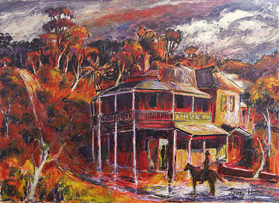 Wa Painting - The Weir by Jeremy Holton