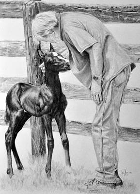 Drawing - The Welcoming by James Foster