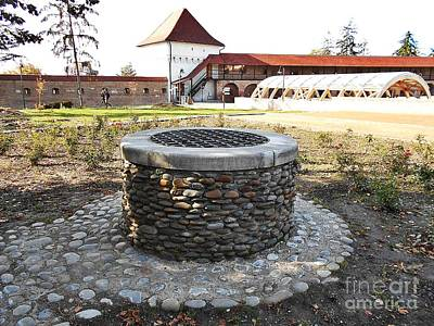 Photograph - The Well Of The Medieval Fortress by Erika H