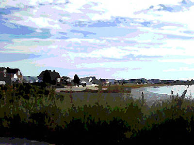 Maine Seacoast Painting - The Wells Side by Douglas Auld