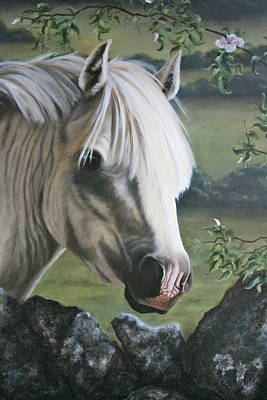 Stone Pony Painting - The Welshman by Beth Munnings