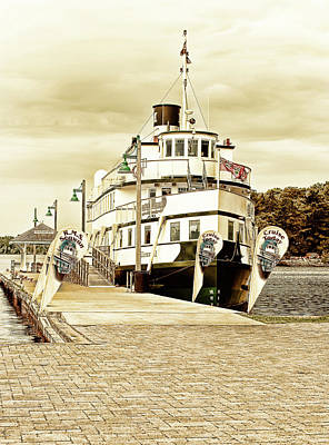 Digital Art - The Wenonah II by JGracey Stinson