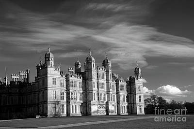 Keith Richards - The West Golden Gate Elevation of Burghley House Stately  by Dave Porter
