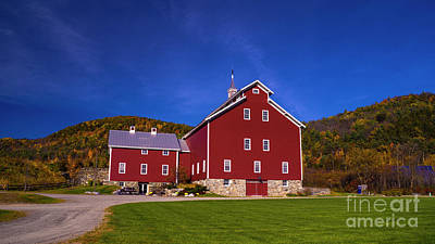 Photograph - The West Monitor Barn by Scenic Vermont Photography