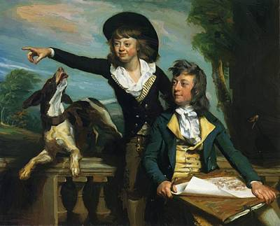 Painting - The Western Brothers 1783 by Copley John Singleton