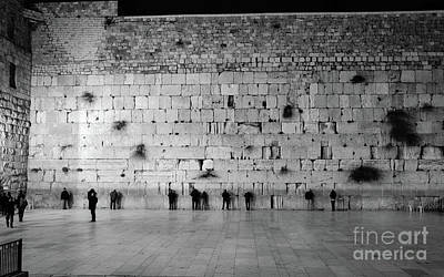 Photograph - The Western Wall, Jerusalem 2 by Perry Rodriguez