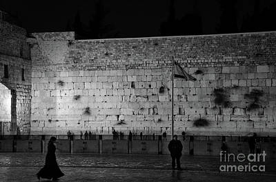 Photograph - The Western Wall, Jerusalem by Perry Rodriguez