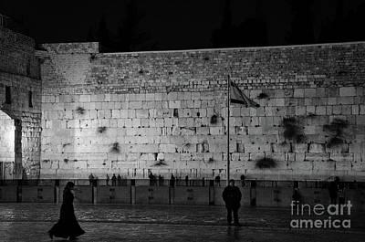 The Western Wall, Jerusalem Art Print