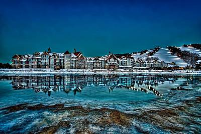Beauty Mark Photograph - The Westin On Ice by Jeff S PhotoArt