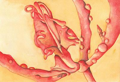 The Wet Dragon Art Print