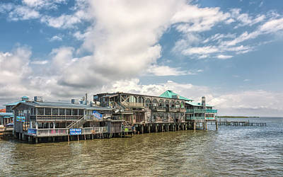 Photograph - The Wharf At Cedar Key by John M Bailey