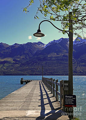 Photograph - The Wharf At Glenorchy by Nareeta Martin